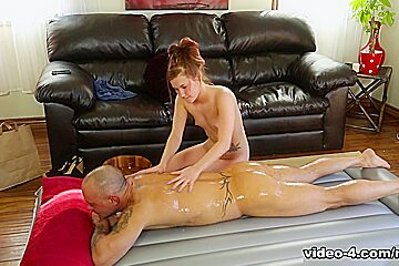 Alaina Dawson & Kurt Lockwood in Dick Delivery - NuruMassage