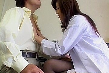 Mai Hanano with round cans fucked at school