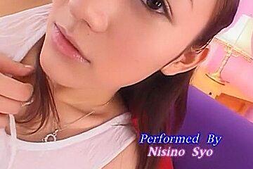Fabulous Japanese girl Sho Nishino in Crazy Fingering, Small Tits JAV scene