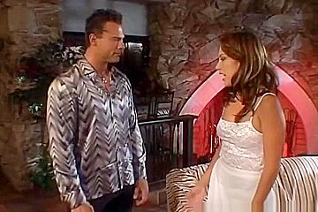 Amazing pornstar Jennifer Luv in fabulous facial, lingerie sex video