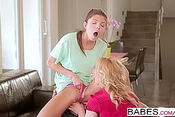 Babes - Step Mom Lessons - Leny Ewil, Gina Gerson, Kathia Nobili - Breakfast in Bed