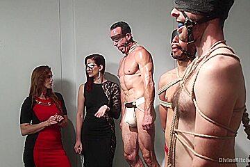 Bella Rossi & Jason Miller in Chastity Cock Suck - DivineBitches