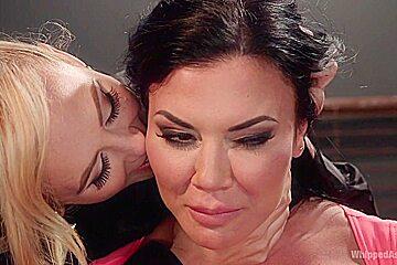Cherie Deville & Jasmine Jae in Big Tit Slut Gets Fucked By Loan Shark Cherie Deville - WhippedAss