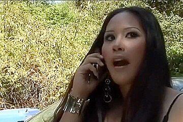 Fabulous pornstar Jessica Bangkok in crazy big butt, interracial xxx video