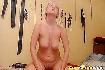 My Blonde Roommate Gets Facial After Doggie And Cowgirl