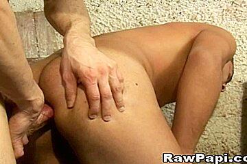 Big round natural tits abuse
