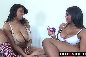 Licking BBW Lesbian Ebonies
