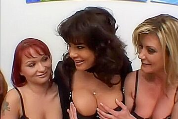 Bisexual Britni, Ginger Lynn, Jewel DeNyle, Julie Night Katja Kassin