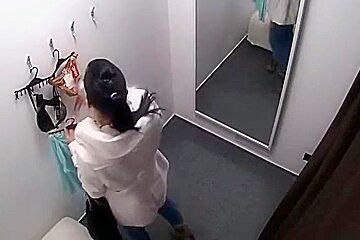 Hidden Changing Room college girl 6