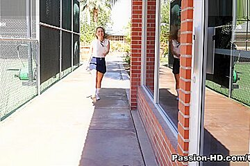 Lilly Ford in After School Workout - PassionHD