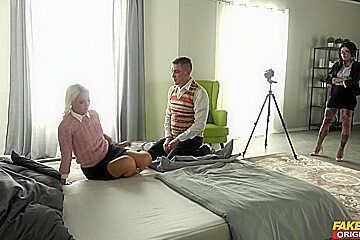 Lovita Fate & Megan Inky & Steve Qute in Sex Doctor - FakehubOriginals