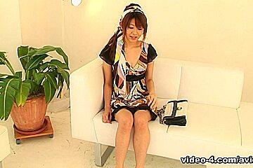 Experienced Babe, Nagisa Sasaki Does Not Mind Fucking In Front Of The Camera - Avidolz