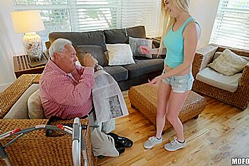 Chloe Foster & Jane Wilde in Old Man's Sneaky Nurse Gets Perverse - MofosNetwork