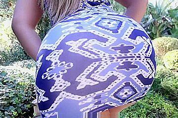Klara Gold Has The Biggest Latina Ass!