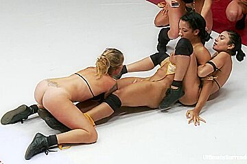 Rounds 1-4 Tag Team Finale. Wrestling Rounds And A 12 Girl Fuck Fest - Publicdisgrace