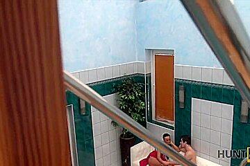 HUNT4K. Hunter picked up slut Anna Rose for nice sex in private pool