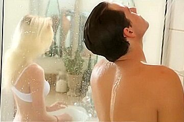 Passion-HD Cute blond fucked hard and wet in shower