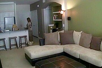 Real hidden - Wife cheating when husband on business trip