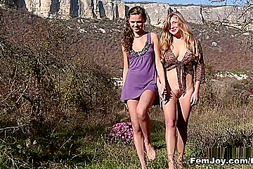 April E. And Sonya D. - Picknick For Two - Femjoy