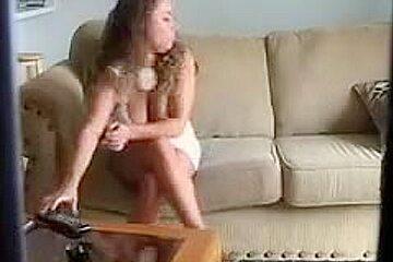 Couple in hidden camera