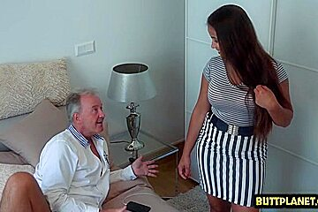 Big tits pornstar blowjob with cum on face