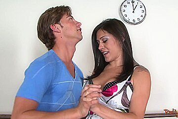 Bigtitted milf pussyfucked by younger guy