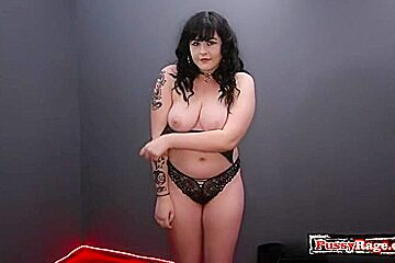 Big tits pornstar face fuck and swallow