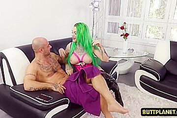 Big tits pornstar deepthroat with cum in mouth
