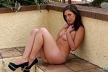 Horny Teen With Hairy Pussy Enjoying Big Cock
