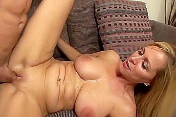 Blonde milf squirt hard - part 1
