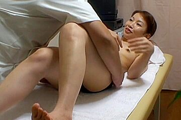 Real massage with ass and pussy examining voyeured on cam