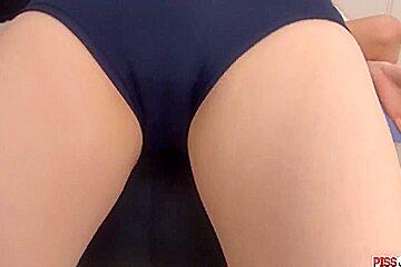 Suzanna gets cum to cream her  - More at Pissjp.com