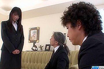Kotomi Asakura, office adventu - More at javhd.net