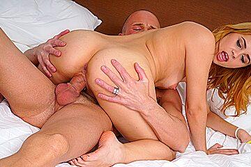 Teeny Lovers - Karry Slot - Teen fucks in nylons and naked