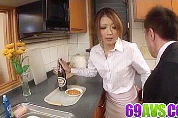 Hibiki Ohtsuki tries cock in - More at 69avs.com