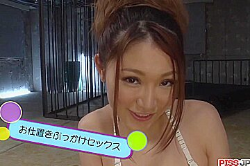 Airi Mizusawa deals several me - More at Pissjp.com