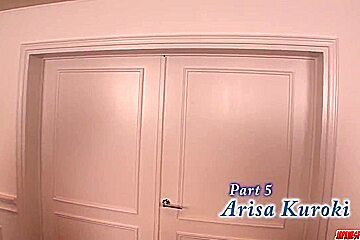 Arisa Kuroki moans with two - More at Japanesemamas.com