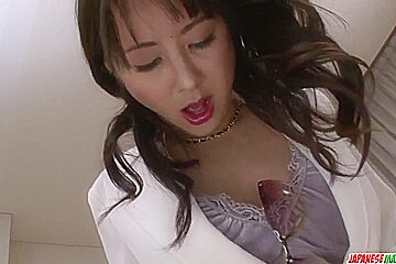 Ayumi Iwasa tries dick in each - More at Japanesemamas.com