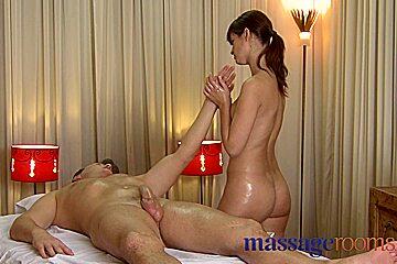Busty masseuse Rita tender loving care