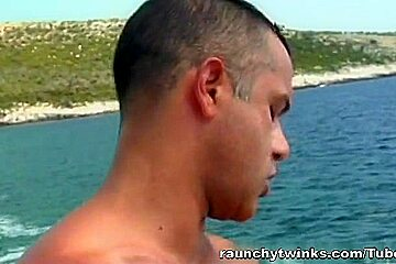RaunchyTwinks Video: Outdoor Twink Loving