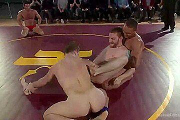 NakedKombat Billy Santoro and Sebastian Keys VS Doug Acre and Brock Avery Live Match