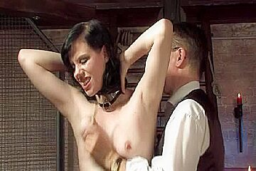 Fetish porn video with kinky spanking and big fuck toys