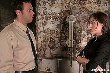 The Journalist Sasha Greys First Bondage Movie
