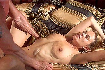 Curvy blonde MILF enjoys a hot 69 fun