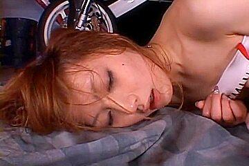 Kaede Fuyutsuki Hot Asian racequeen is lovely