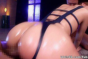 Jessica Kizaki amazing Asian milf in hardcore group fucking