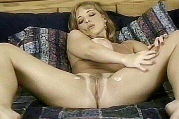 Danni Ashe - White blouse, 1995 (Southern Shore)
