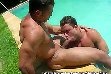 Muscular Latinos Fuck
