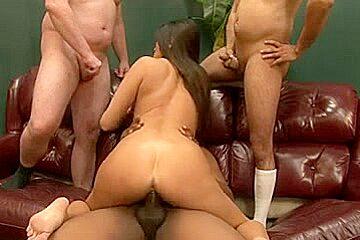 Cece Stone - My Hirsute Gang Group-Sex 4
