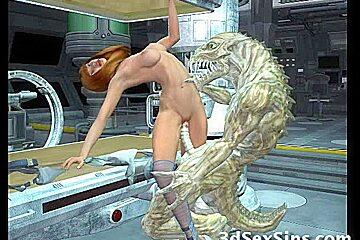 Orcs Bang 3D Babes!